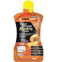 NamedSport Total Energy Hydra Gel - Energiegel, Lemon and Peach