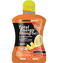 NamedSport Total Energy Strong Gel - Energiegel, Lemon