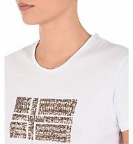 Napapijri Crew Neck SS Sas - T-shirt tempo libero - donna, White