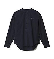 Napapijri Ghio - camicia a maniche lunghe - donna, Dark Blue