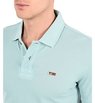 Napapijri Polo SS Taly 1 - T-shirt tempo libero - uomo, Light Blue
