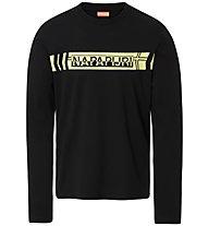 Napapijri Segy LS - Langarmshirt - Herren, Black