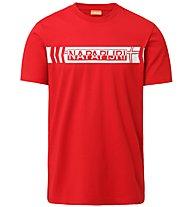 Napapijri Segy SS - T-shirt - uomo, Red