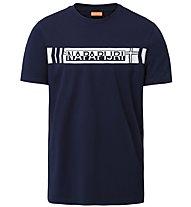 Napapijri Segy SS - T-shirt - uomo, Dark Blue