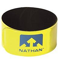 Nathan Reflex (2 pezzi) - fascette catarifrangenti, Yellow