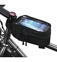 NC17 Konsole connect - borsa bici da telaio, Black