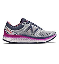 New Balance 1080 Fresh Foam v7 W - Neutral-Laufschuhe - Damen, Grey/Violet