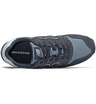 New Balance 373 Suede Textile - Sneaker - Damen, Blue/Dark Grey