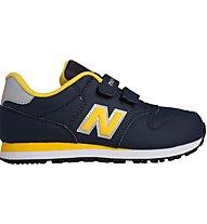 New Balance 500 Kids Scarpe da ginnastica bambini, Blue/Yellow
