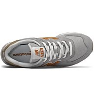 New Balance 574 Beach Cruiser New Edition - Sneaker - Herren, Grey/Orange