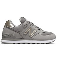 New Balance 574 Metallic - sneakers - donna, Grey