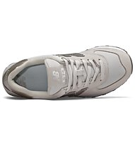 New Balance 574 Metallic - Sneaker - Damen, Beige