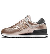 New Balance 574 Metallic Leather - sneakers - donna, Rose