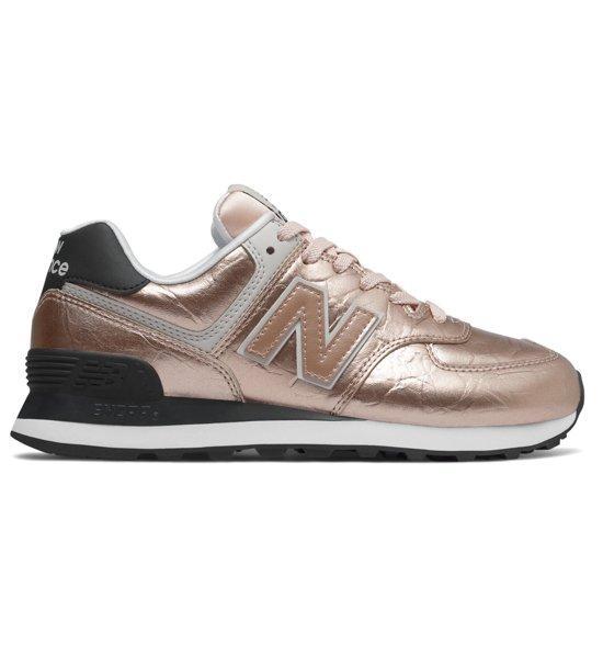 new balance 574 donna metallic