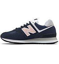 New Balance 574 Pink Pops W - Sneaker - Damen, Blue/Pink