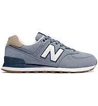 New Balance 574 Premium Canvas Pack - sneakers - uomo, Light Blue