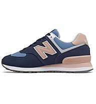 New Balance 574 Seasonal - sneakers - donna, Blue/Rose