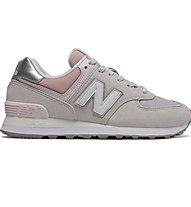New Balance 574 Sport Pack - Sneaker - Damen, Grey/Pink