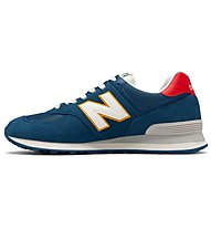 New Balance 574 Vintage Running Pack - sneakers - uomo, Blue/White/Red