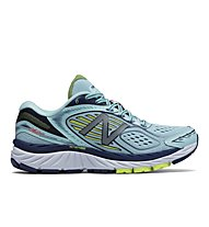 New Balance 860 NBX W - scarpe running neutre - donna, White/Blue