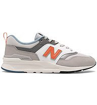 New Balance 997 90's Style - sneakers - uomo, Grey/Orange