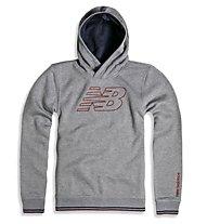 New Balance Classic Hood Sweater - Kapuzen-Pullover - Herren, Grey
