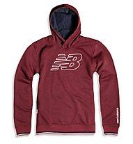 New Balance Classic Hood Sweater - Kapuzen-Pullover - Herren, Red