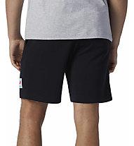 New Balance Essentials Fleece - pantaloni corti - uomo, Black