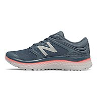 New Balance Fresh Foam 1080v8 W - scarpe running neutre - donna, Grey/Pink