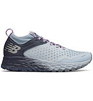 New Balance Fresh Foam Hierro V4 - scarpe trail running - donna, Grey/Light Blue