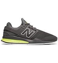 New Balance M247 Enginnered Mesh - Sneaker - Herren, Grey/Yellow