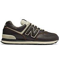 New Balance M574 Luxury Leather - Sneaker - Herren, Black