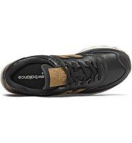 New Balance M574 Luxury Leather - Sneaker - Herren, Black/Brown