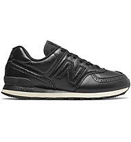 New Balance M574 Luxury Leather - Sneakers - Herren, Black