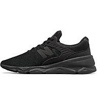 New Balance M90 Textile Synthetic - Sneaker - Herren, Black
