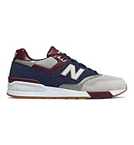New Balance ML597 Suede/Mesh - sneakers - uomo, Blue/Grey