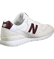 New Balance MRL996 Suede Mesh - Sneakers - Herren, White/Red