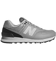 New Balance Synthetic Leather WL574 - Turnschuh - Damen, Grey/Black