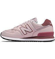 New Balance W574 Synthetic Metallic - Sneaker - Damen, Pink