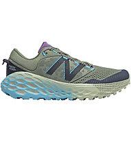 New Balance W Fresh Foam More Trail v1 - Trailrunningschuh - Damen, Green/Blue
