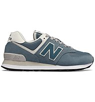 New Balance WL574 Suede Mesh Seasonal - sneakers - donna, Blue