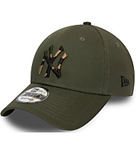 New Era 9Forty Camo Infill NY Yankees - Kappe, Dark Green