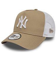 New Era Essential Trucker NY Yankees - cappellino, Brown/White