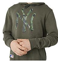 New Era MLB Camo Infill NY - felpa con cappuccio - uomo, Green