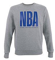 New Era NBA League Logo Crew - maglia basket, Grey/Blue