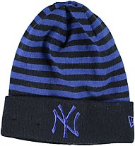 New Era Neyyan Cuff Knit Stripe Revers - berretto, Blue