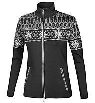 NDL Norvegia Trendy Jacke Damen, Black/White