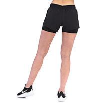 Nike 10k 2-in-1 Running Shorts - Laufhose - Damen, Black