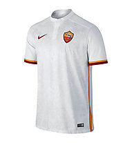 Nike 2015/16 Roma Stadium Away - maglia calcio Roma, F. White/Kumquat/T. Red