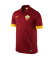 Nike 2015/16 Roma Stadium Home - T-shirt da calcio, T. Red/R. Mahogony/Kumquat